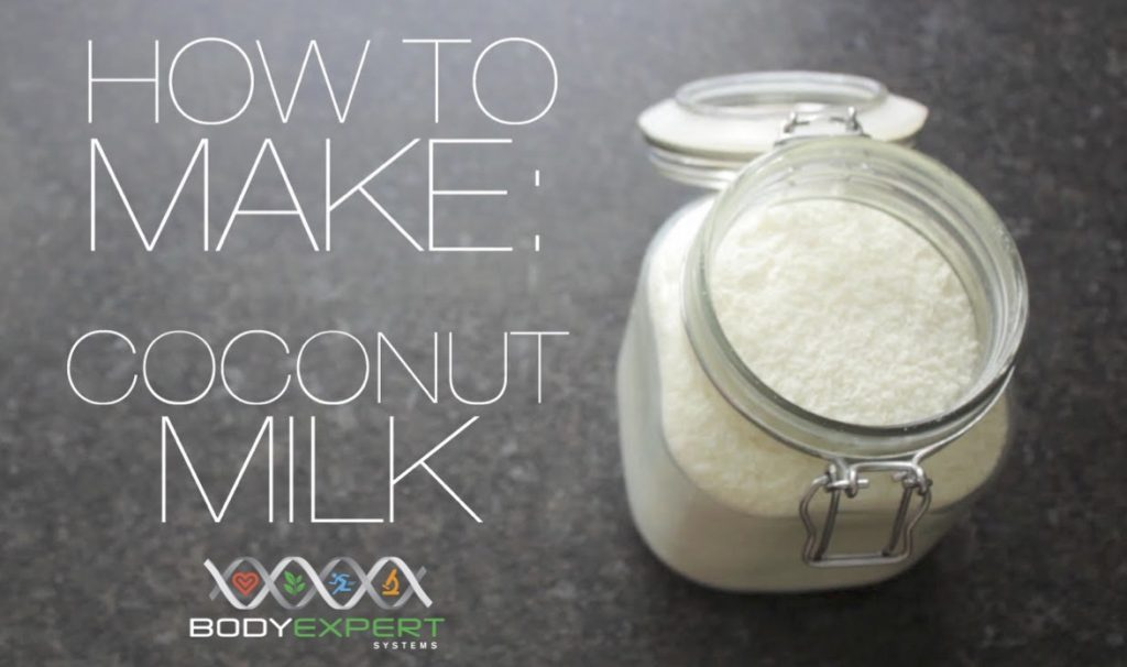 Body Expert Systems coconut milk recipe