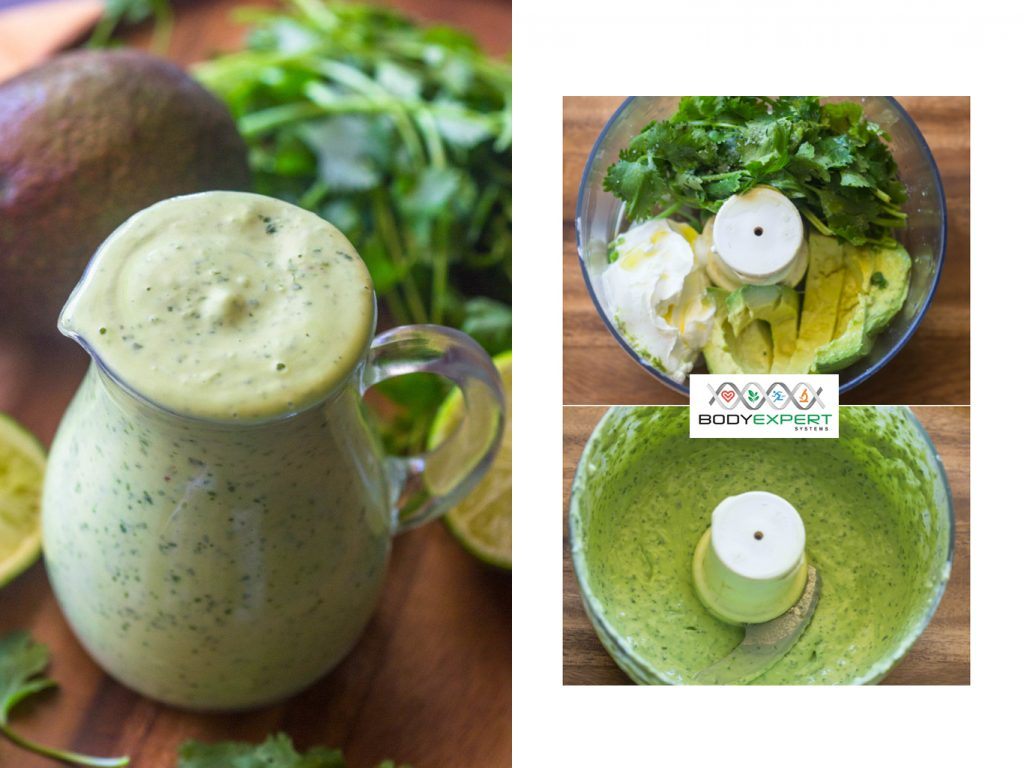 delicious recipe for a healthy salad dressing